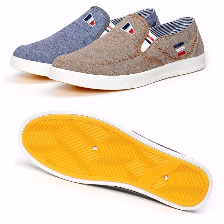 Giày Lười Vải Nam Thời Trang phong Cách Hàn Quốc - (SP13)