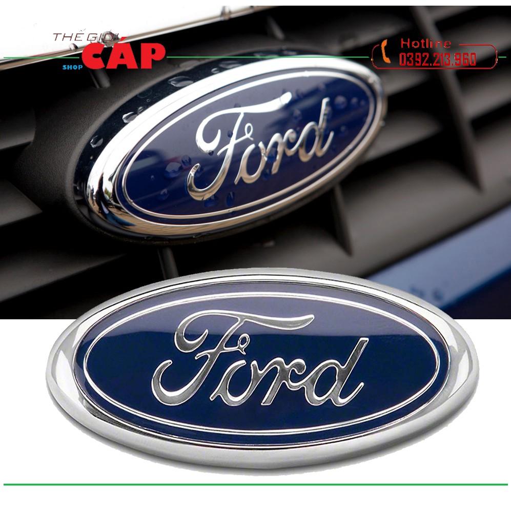 Logo FORD Dán Trước Sau Cho Tất Cả Dòng Xe Ford