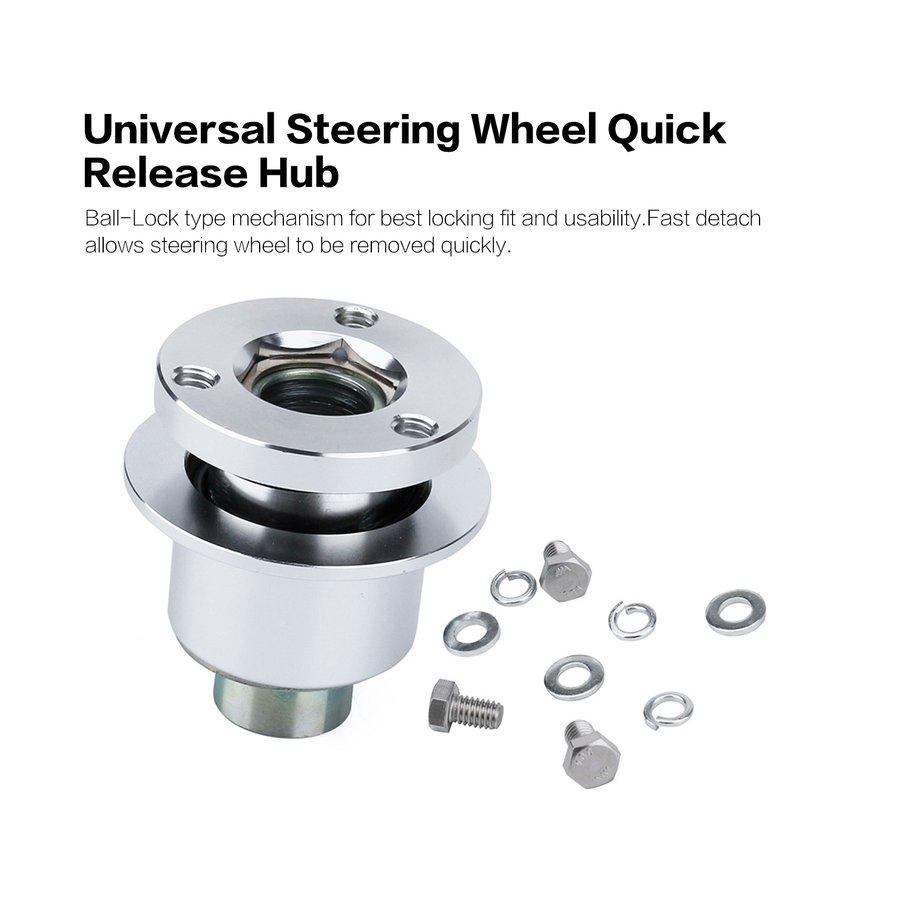 【SYH】CNSPEED Steering Wheel Quick Release Hub Kit For 3 hole Steering Wheel Hub
