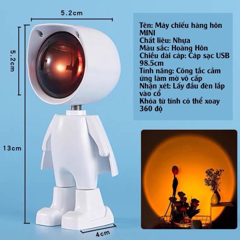 Đèn Robot Suset đèn hoàng hôn| Hubeshop