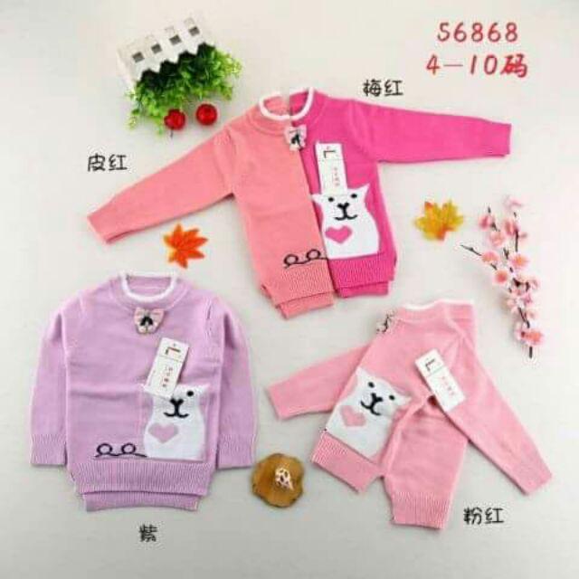 Combo 8 chiếc áo len cho bé gái - 3423413 , 783633370 , 322_783633370 , 696000 , Combo-8-chiec-ao-len-cho-be-gai-322_783633370 , shopee.vn , Combo 8 chiếc áo len cho bé gái