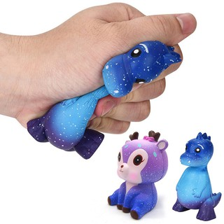 Cartoon Starry Sky Dinosaur Scented Slow Rising Pu Squeeze Decompression Toys