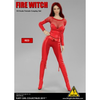 [Order] Flirty Girl Collectibles FGC2019-13 Fire Witch Cosplay Clothing Set