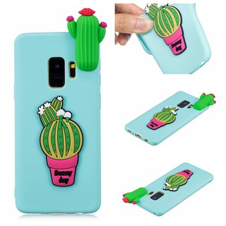 For Samsung Galaxy S9 cartoon 3D silicone case