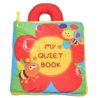 Sách vải nhồi bông mềm mại dành cho bé sơ sinh
