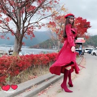 Giày boost vải đỏ đô thanh lý size 36, 37