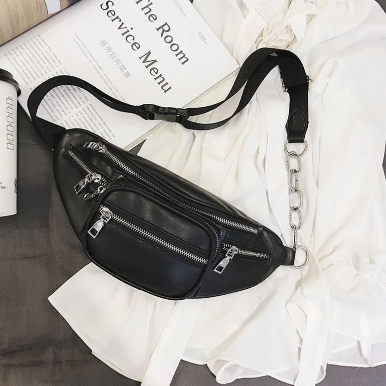 Túi bao tử đeo chéo da - TXN30 (kèm video ảnh thật)