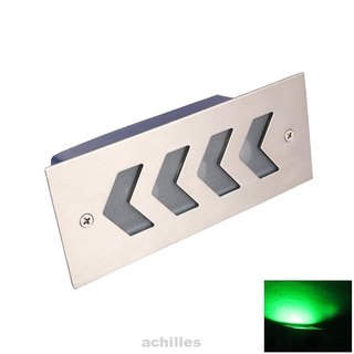 High Brightness Modern Outdoor Waterproof Recessed Rectangular Staircase Corner Wall Wear Resistance Step Light