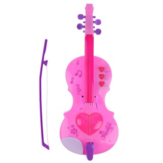 4 Strings Music Electric Violin Kids Musical Instruments Educational Toys [KidsDreamMall]