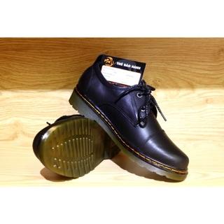 Giày dr nam snecker da bò SHOES 2H size 38-43, Đen 2H-12 thumbnail