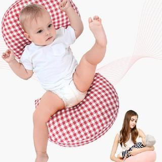 [LIKADO]Gối bầu, kích thước (70x22x40cm), vải 100% cotton, ruột bông nhân tạo thumbnail