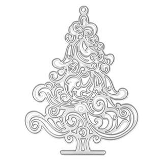 Khuôn Cắt Tạo Hình Cho Scrapbook Hình Cây Thông Giáng Sinh