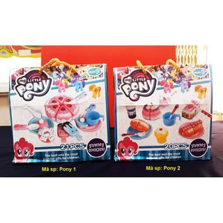 [Thank You] – Bộ đồ chơi Party của Pony cho bé gái