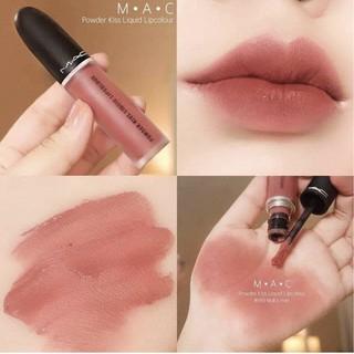 [GIÁ SỈ] Son Kem Lì MAC Powder Kiss Liquid Lipcolour, Son Mac Kem Full Size 5g thumbnail