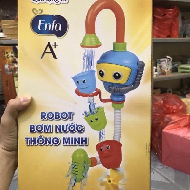 Robot bơm nước thông minh. Quà tặng từ Enfa.