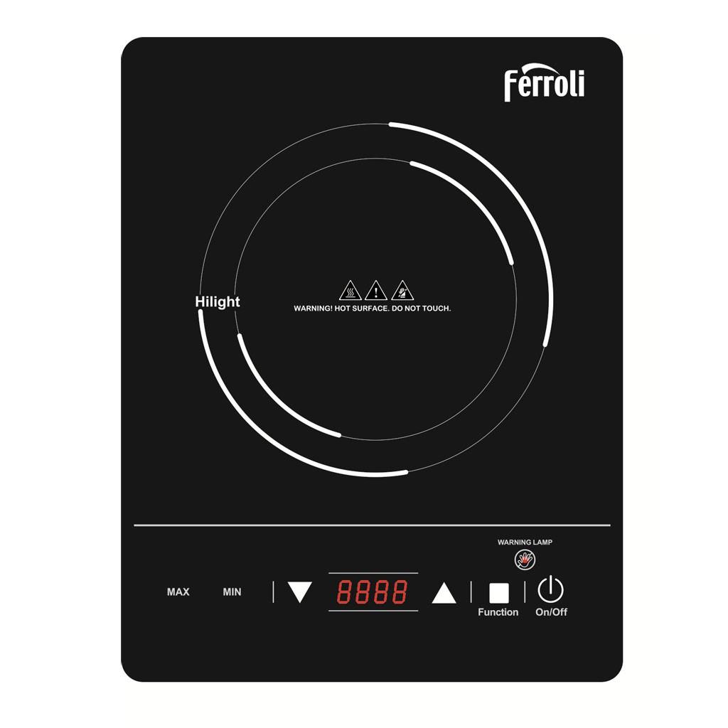 Bếp hồng ngoại đơn Ferroli model CS2000CE cao cấp siêu bền (màu đen)