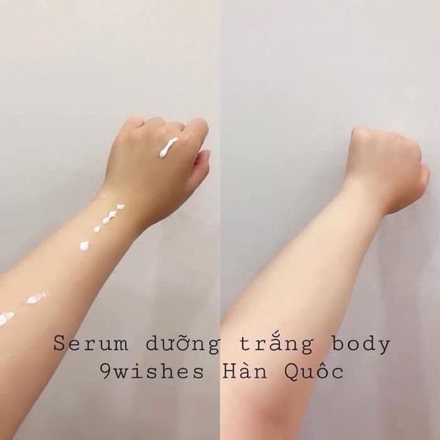 Serum dưỡng trắng Body 9 Wishes