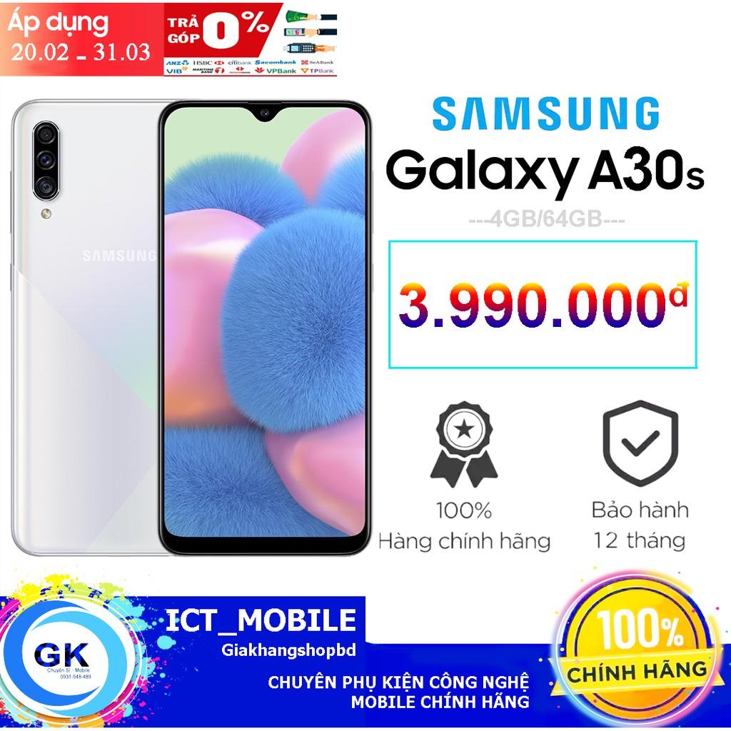 [Nguyên Seal] Điện Thoại Samsung Galaxy A30S 4GB/64GB - Hãng Phân Phối Chính Thức