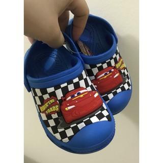 Sandals Crocs nhấp nháy xanh ô tô thumbnail