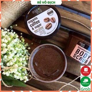 [HÀNG HOT] Tẩy Da Chết Toàn Thân Organic Coffee & Sugar Body Scrub