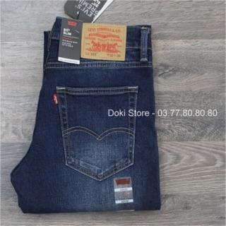 ⚡️FLASH SALE⚡️Quần Jeans Levis 511 xanh đậm mài kết hợp đường chỉ xanh, Cambodia xuất dư