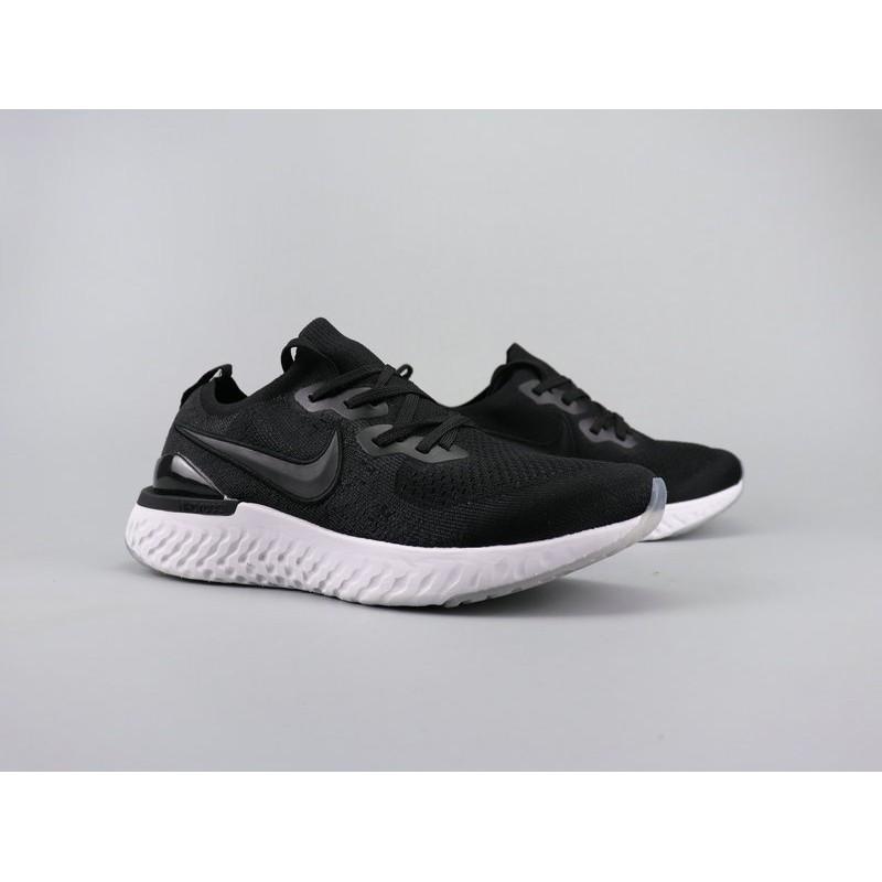 NIKE RISE REACT FLYKNIT Nike Ria fabric lightweight running shoes Size:36-44160