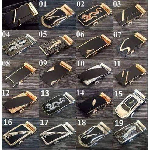 Mặt khóa kim loại – Thắt lưng nam – Dây nịt nam – dùng cho dây có rãnh trượt răng cưa