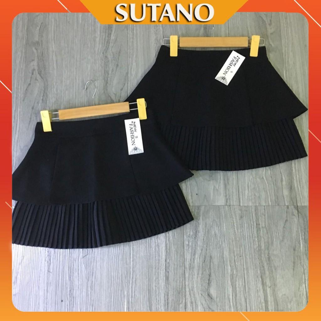[SALE 50%] Chân váy vải dập ly sang chảnh ( xếp ly 1 tầng)