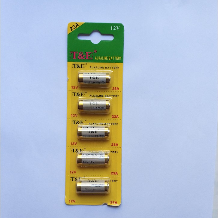 Pin 23A 12V ALKALINE cho chuông cửa, điều khiển cửa cuốn, remote báo chống trộm