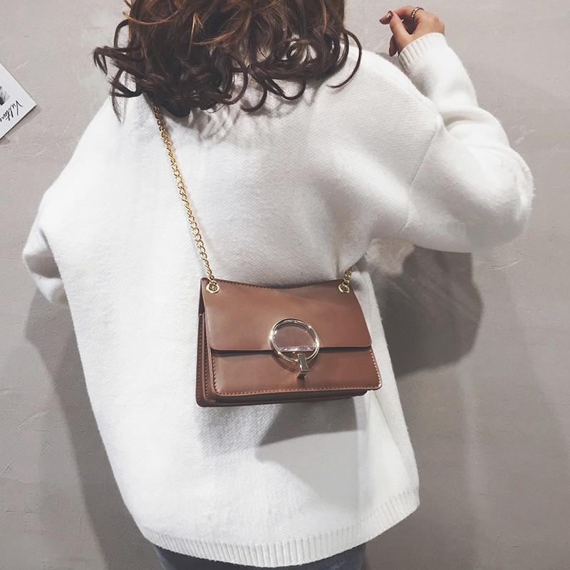 Small bag female 2018 new fashion Korean version of the shou