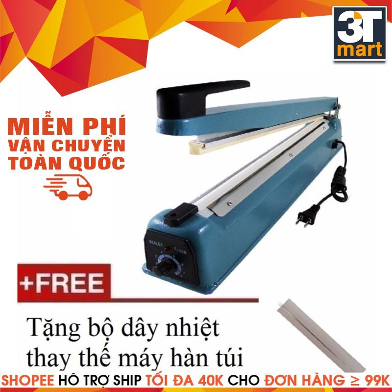 Máy hàn miệng túi nilon SF-300 + Tặng bộ dây nhiệt thay thế - 2969932 , 821657659 , 322_821657659 , 379000 , May-han-mieng-tui-nilon-SF-300-Tang-bo-day-nhiet-thay-the-322_821657659 , shopee.vn , Máy hàn miệng túi nilon SF-300 + Tặng bộ dây nhiệt thay thế