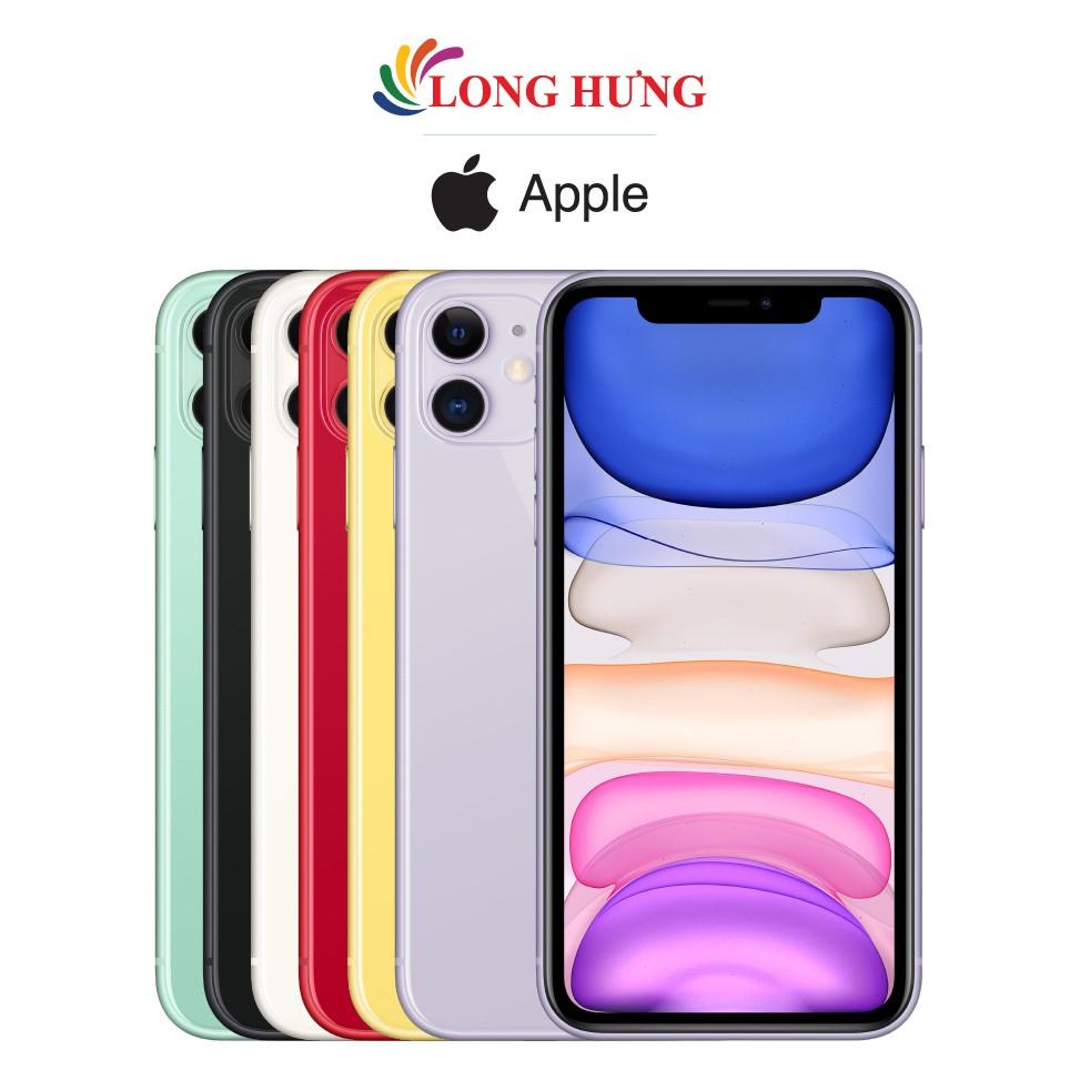 [Mã ELMALLCOIN hoàn 8% xu đơn 500k] Điện thoại Apple iPhone 11 128GB (VN/A) - Hàng chính hãng