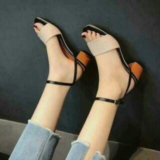 Combo sandal gót 5 phân