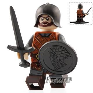Đồ chơi lắp ráp lego minifigures nhân vật lính trung cổ knights hiệp sĩ game of thrones XP046.