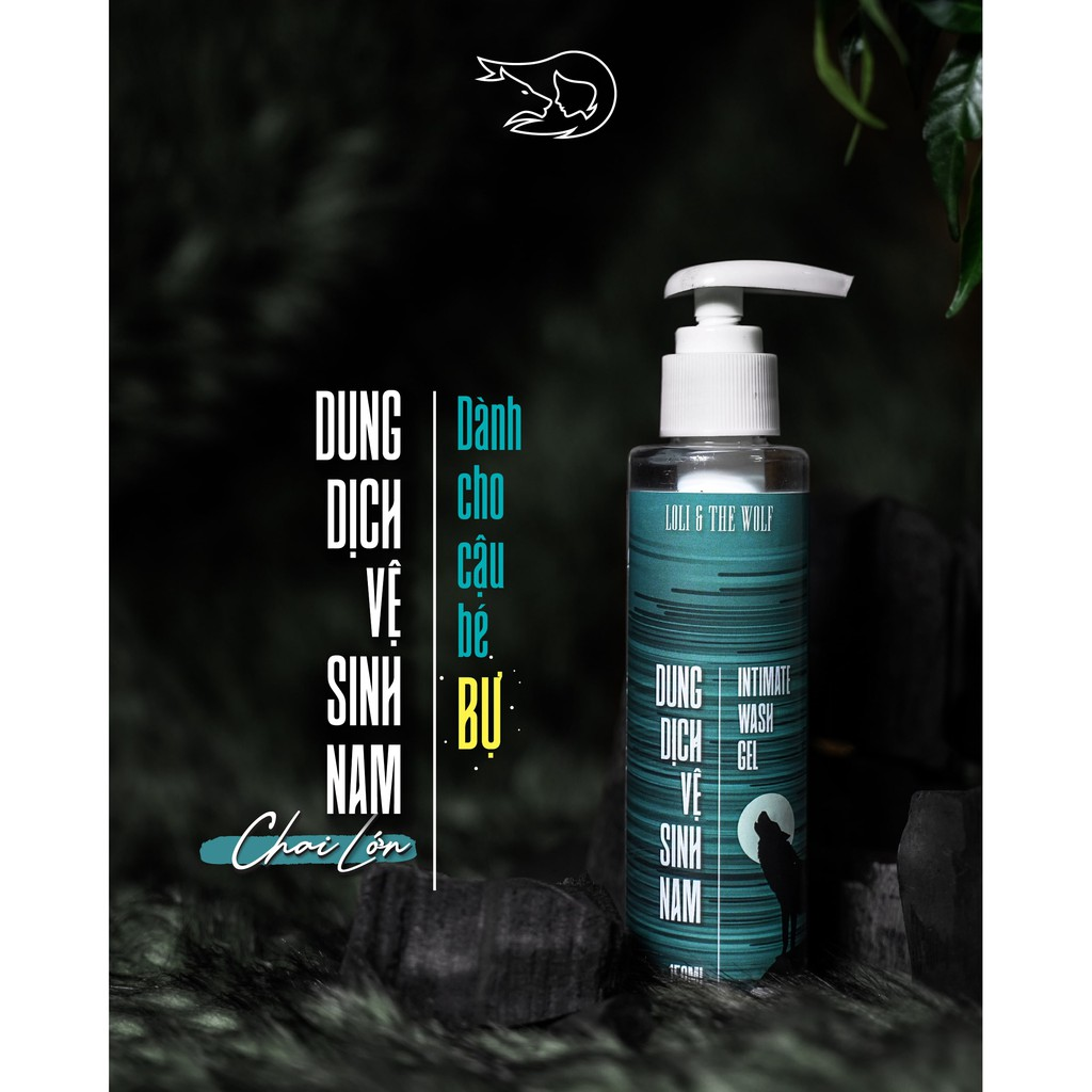 Dung dịch vệ sinh nam dạng gel 150ml - Loli & The Wolf