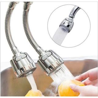Vòi rửa chén tăng áp💓FREESHIP💓Đầu vòi xoay 360 có 2 chế độ bật nước tiện lơi, điều chỉnh lượng nước 8359