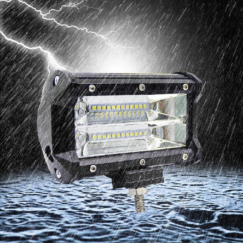 Dải đèn LED 5 Inch 72W chuyên dụng cho xe hơi