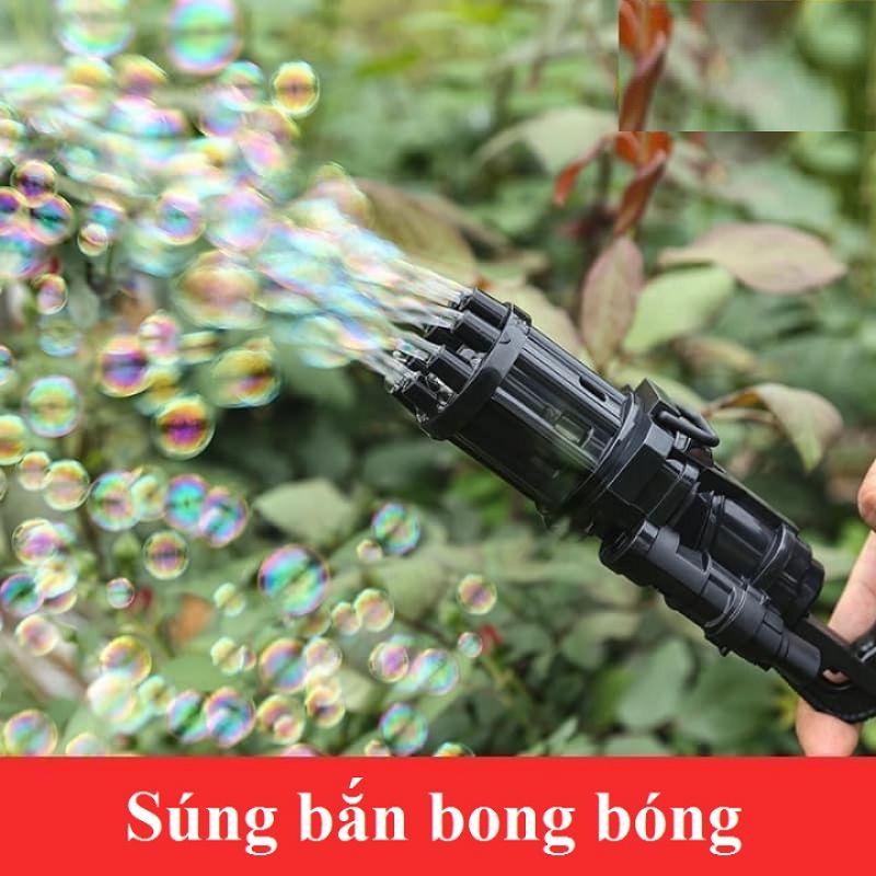 Súng bắn bong bóng xà phòng 8 nòng cỡ bự
