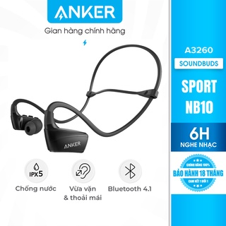 Tai nghe ANKER Bluetooth SoundBuds Sport NB10