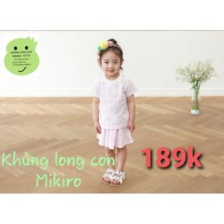 Set áo + váy Hàn Quốc cho bé