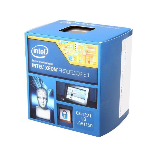 CPU Cũ Intel Xeon E3 1271V3 Xung 3.6Ghz