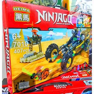 Xếp Hình LEGO Ninjago Lắp ráp xe đua ( 407 Pcs )