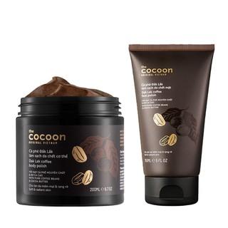Tẩy da chết Cocoon Cà phê Đắk Lắk làm sạch da chết 150ml-200ml