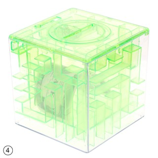 Puzzle Saving Gift 3D Money Case