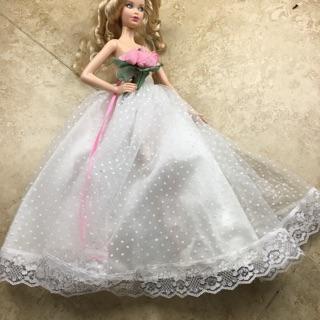 QA 2 Chân váy cho búp bê barbie không kèm búp bê