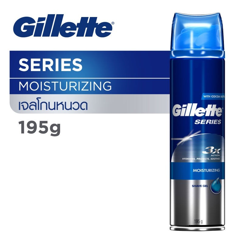 Gillette Gel Shave Prep 195G Moisturizing 1CSX6IT