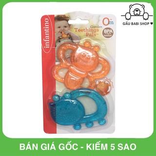 FREE SHIP !!! Đồ chơi cầm tay trẻ em Set vòng mềm có nước 2 món Infantino 216276 – Hàng chính hãng