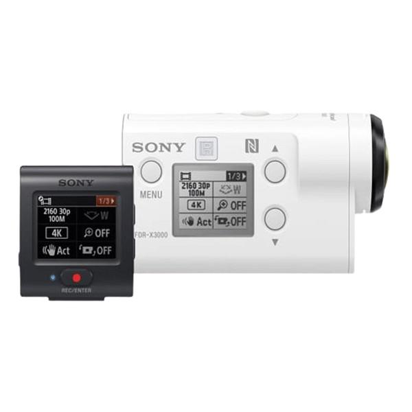 Máy quay phim 4K Action Cam FDR-X3000R (Live View Remote)