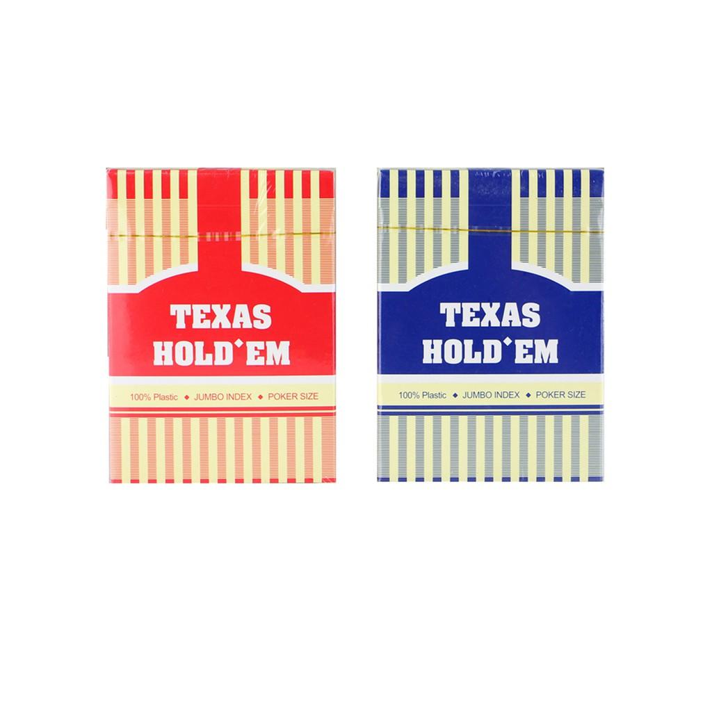 [Chính hãng] Bài nhựa Texas Hold'em - Bài Poker - Bài casino - Bài Tây Playing Cards 100% Plastic