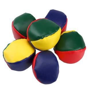 5x Magic Circus Juggling Balls Classic Bean Bag Juggle Beginner Kids Toy